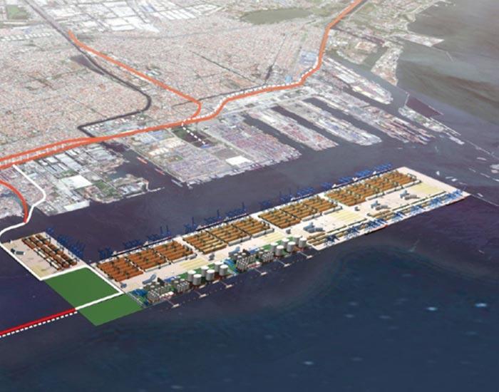 Pembangunan International New Port Of Tanjung Priok (Terminal Kalibaru)